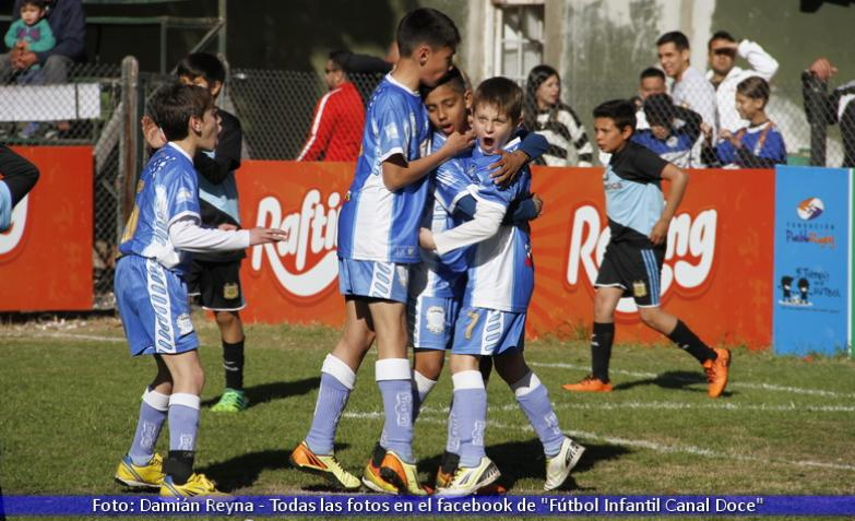 fútbol infantil bell ville venció a villa dolores