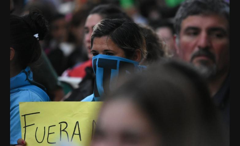 santiago maldonado desaparicion marcha protesta cordoba reclamo