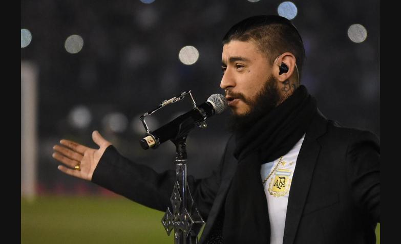 Ulises Bueno Eliminatorias Seleccion Argentina Venezuela Estadio Monumental Himno Nacional Argentino