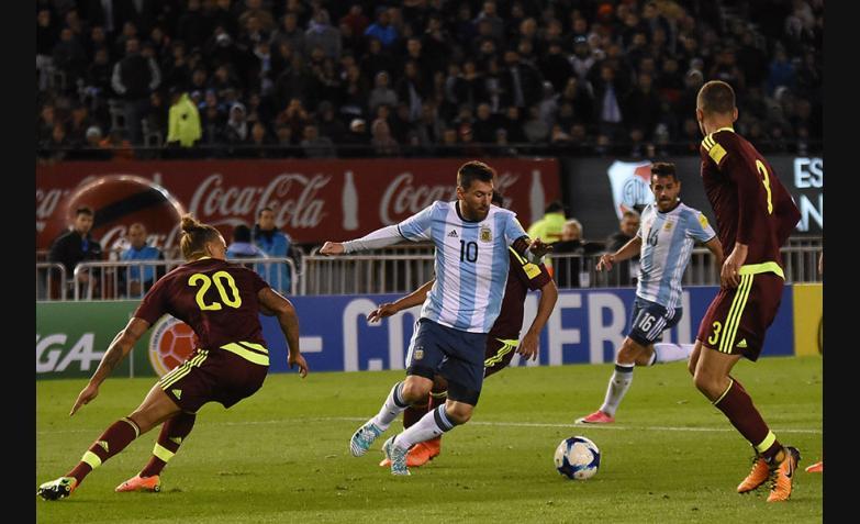 seleccion argentina venezuela eliminatorias monumental