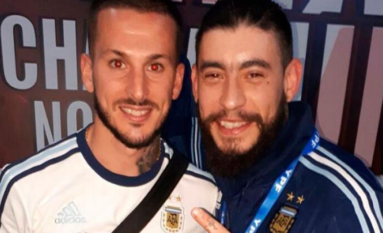 Ulises Bueno y Dario Benedetto