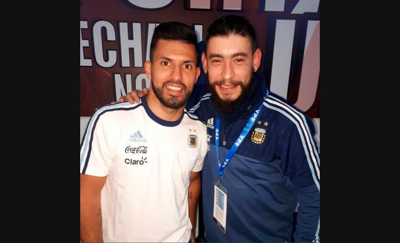 Ulises Bueno y Sergio Kun Aguero