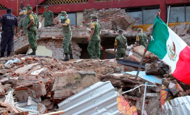 México: el sismo sembró la muerte y el pánico en la población.