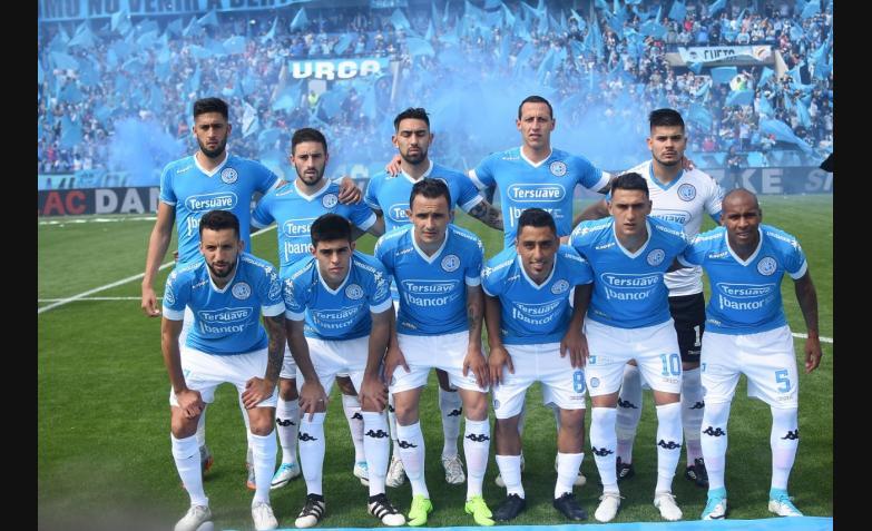 Belgrano San Martin Inauguracion Gigante Alberdi estadio