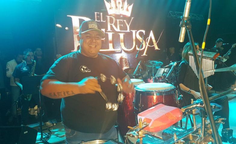 El Rey Pelusa en Sala del Rey / Fotos: Flavio Castelló, ElDoce.tv