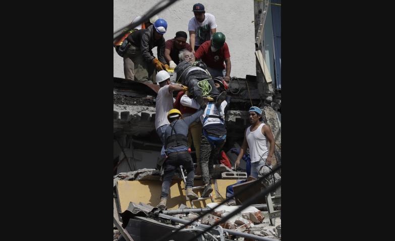 terremoto trágico en México