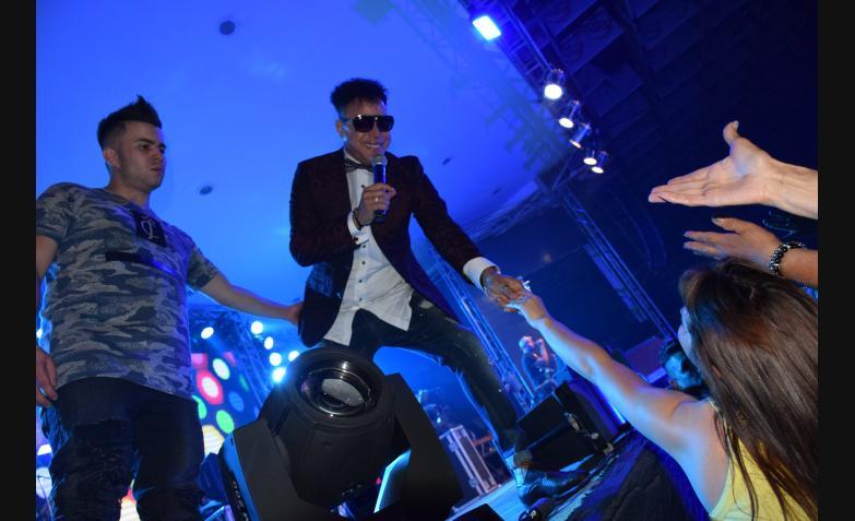 Jean Carlos presentó su baile del recuerdo / Fotos: Maxi López, Cuarteteando.com