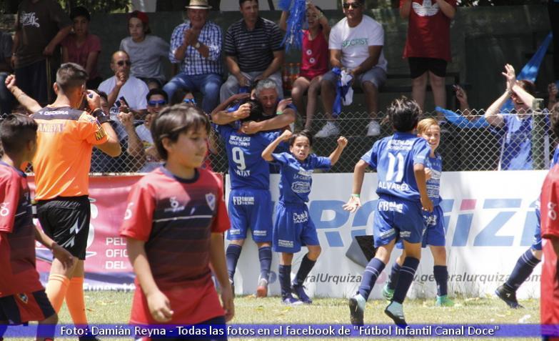final fútbol infantil colonia caroya y espíritu santo