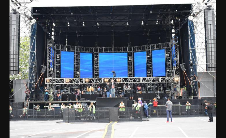 El cuartetero celebró un año plagado de éxitos con un show único. Fotos: Flavio Castelló / ElDoce.tv