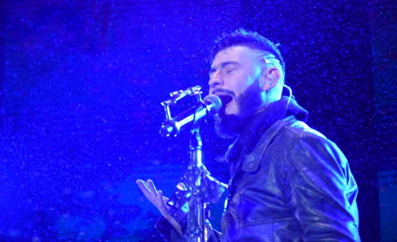 El cuartetero celebró un año plagado de éxitos con un show único. Fotos: Fido Cuestas / ElDoce.tv