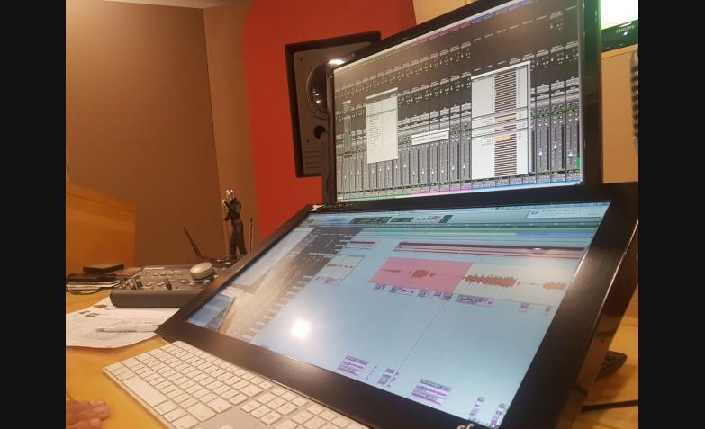 Chipote graba las voces de su nuevo material que saldrá en febrero