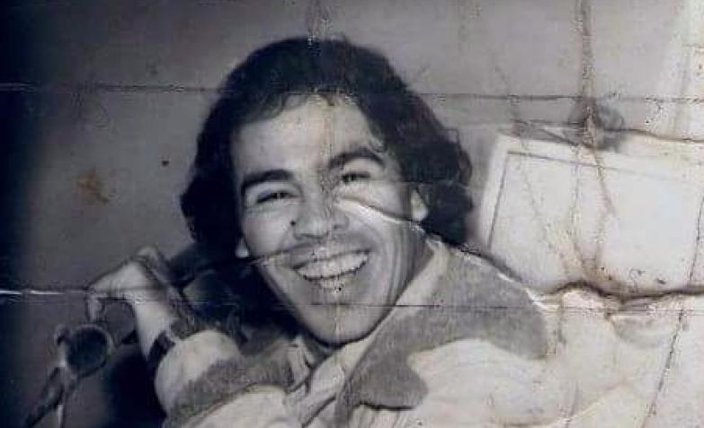 La Mona Jiménez en sus comienzos en la música.
