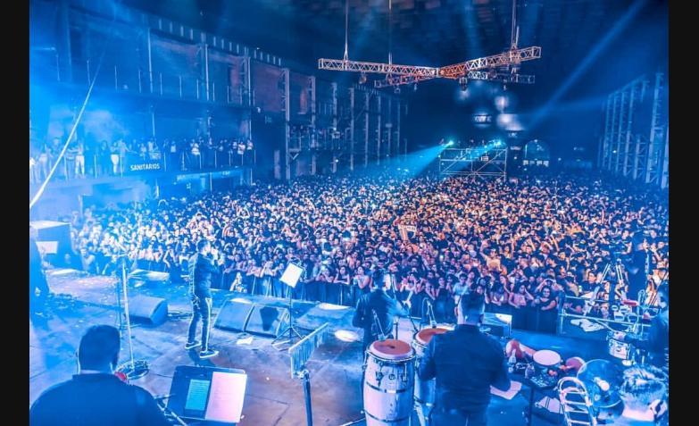 Q´Lokura en Plaza de la Música. Fotos: Facundo Miranda