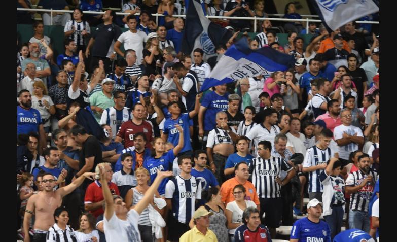 Talleres Defensa y Justicia Estadio Kempes.