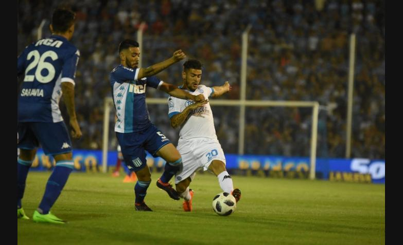 belgrano racing gigante alberdi superliga 2018