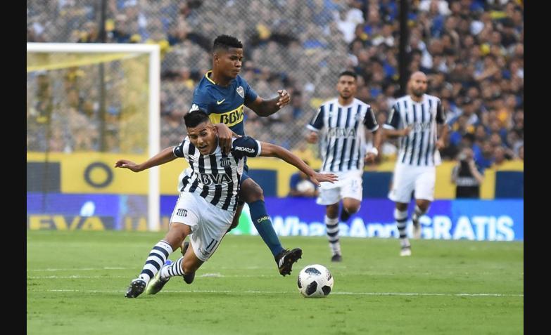 boca talleres superliga bombonera primera division 2018