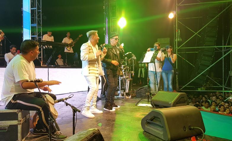Damián Córdoba juntó a figuras del cuarteto para su cumple en Forja