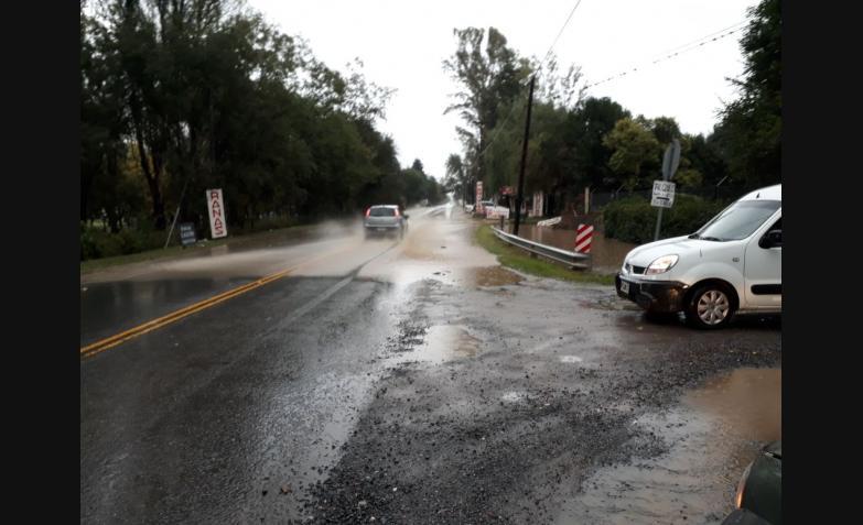 Ruta E55 temporal cordoba lluvia