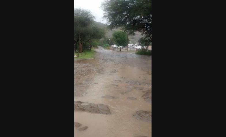 barrio perla del lago cordoba temporal lluvia