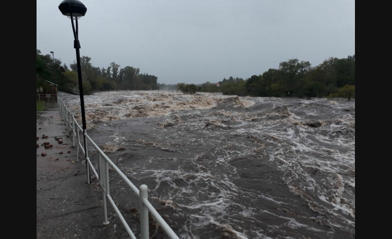 cabalango 6 mts crecida 2 temporal lluvia cordoba