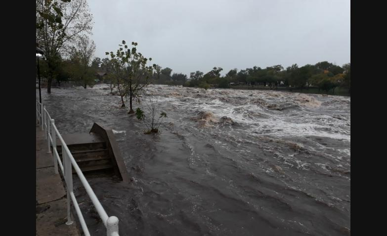 cabalango 6 mts crecida temporal lluvia cordoba