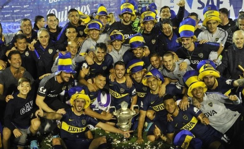 boca campeon bicampeon superliga futbol argentino gimnasia de la plata
