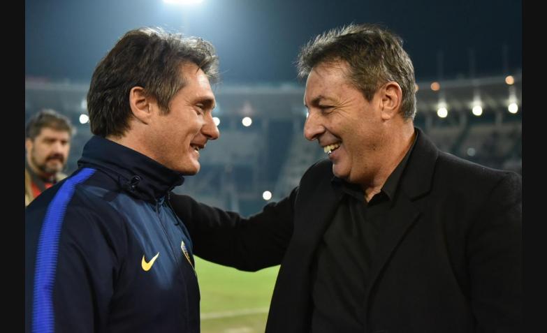 frank dario kudelka despedida dt talleres boca 2018 amistoso