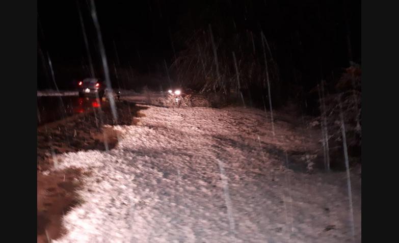 la cumbrecita nieve nevada cordoba sierras 2018