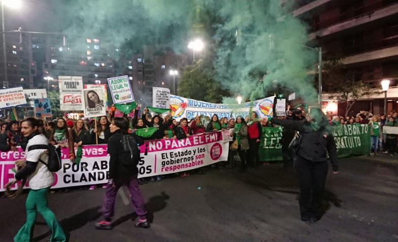 ni una menos cordoba marcha aborto despenalizacion femicidios