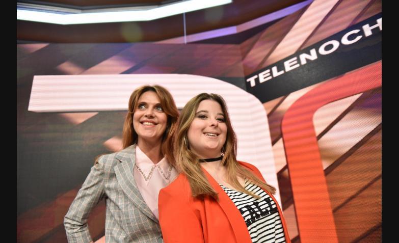 Flavia Iros Malena Pozzobon Telenoche