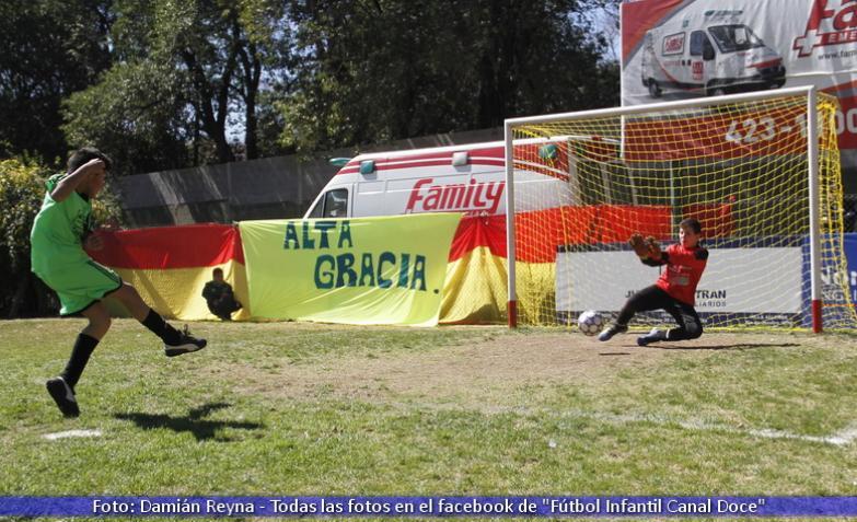 futbol infantil domingo 23 septiembre