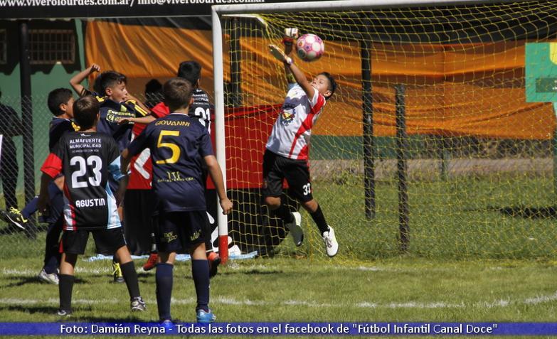 Almafuerte VS La Francia Fútbol Infantil