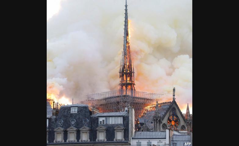 incendio catedral de notre dame paris francia