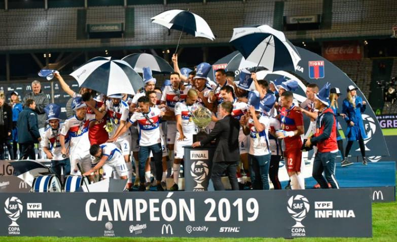 Tigre se coronó campeón por primera vez en su historia y jugará la Copa Libertadores 2020. / Foto: ElDoce.tv