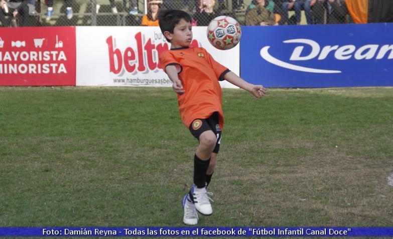 el doce Fútbol Infantil, Bell Ville, Río Tercero, Cinco Ríos, Luis Robles, Santo Tomás, Nuestra Señora del Carmen