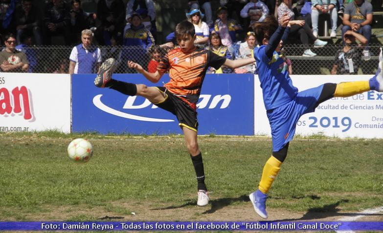 futbol infantil jesus maria don orione canal 12