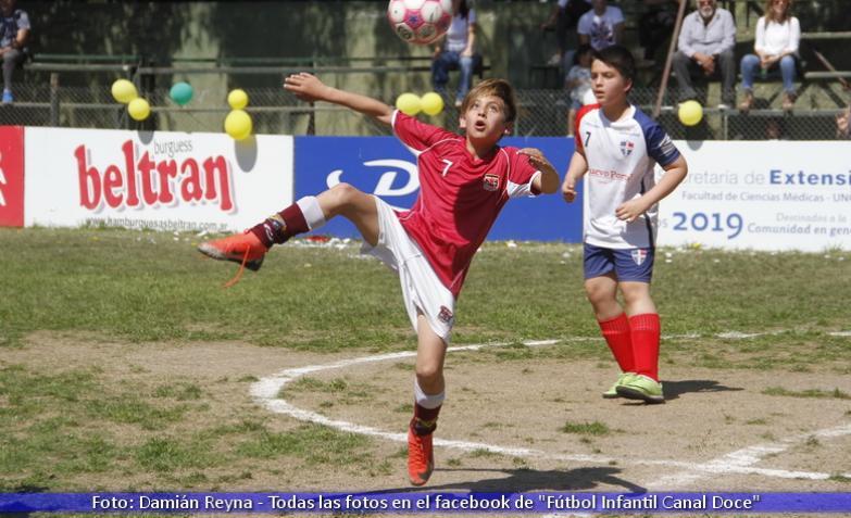 fútbol infantil cuartos de final