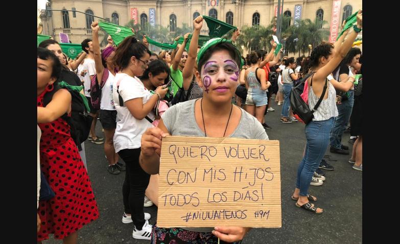 Paro Internacional de Mujeres Córdoba