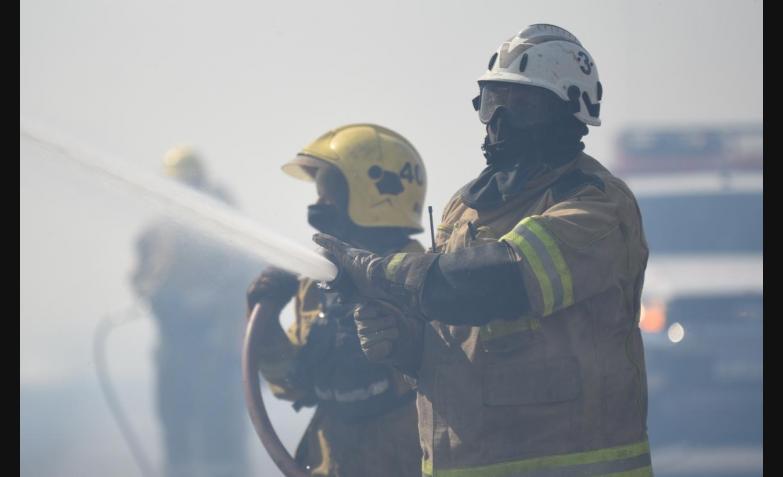 incendio cordoba sierras fuego bomberos