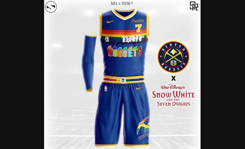 Camiseta NBA Disney