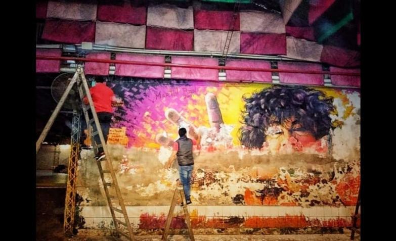 mural la mona jimenez sargento cabral