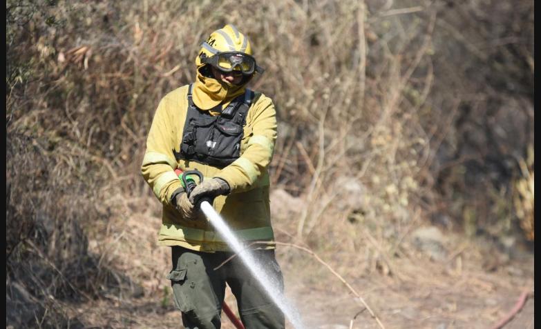 Los incendios azotan a Córdoba. / Foto: Lucho Casalla El Doce