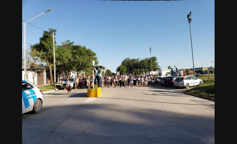 marcha rio segundo pilar luciano gassman accidente