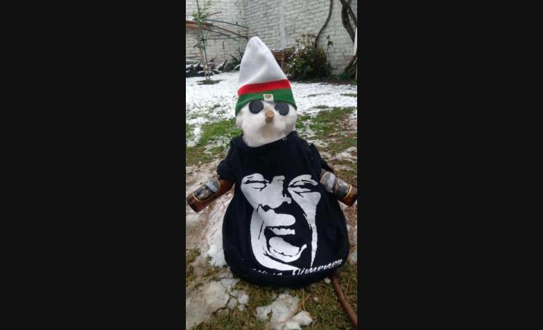 muñeco de nieve la mona jimenez