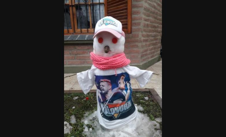 muñeco de nieve q lokura