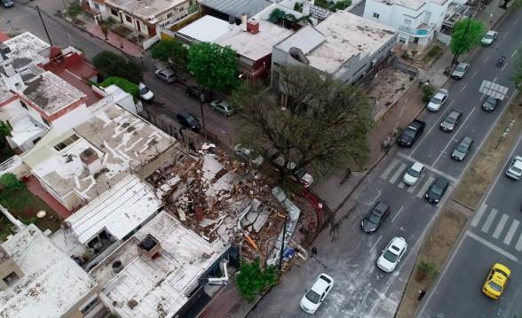 Explosión-Derrumbe-Pizzería-Fuga-de-Gas-Garrafa-Barrio-Parque-Capital-Cordoba