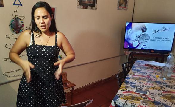 noelia tucuman lenguaje señas hermano