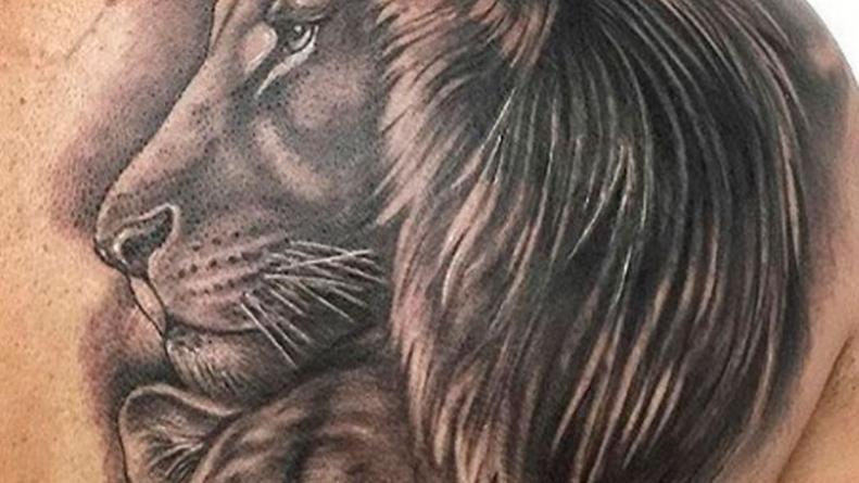 El Impresionante Tatuaje Que Le Dedico A Su Mujer Eldoce Tv