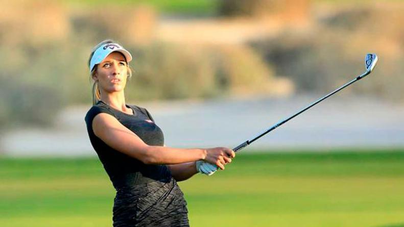 Filtraron Un Topless íntimo De La Golfista Más Sexy Del Mundo