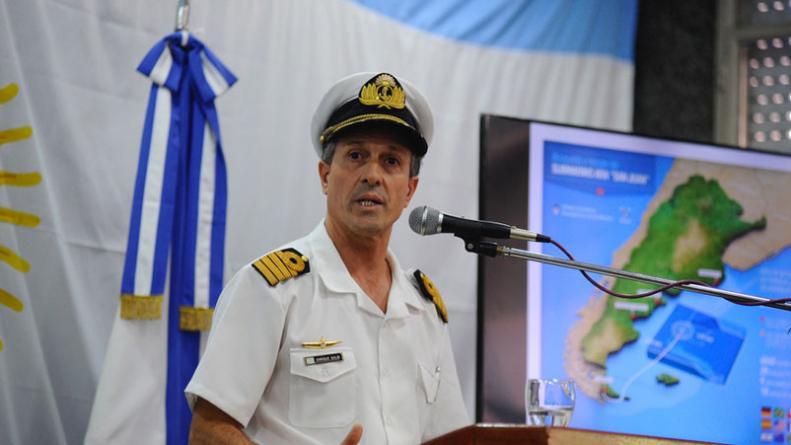 armada-argentina-vocero-enrique-balbi-ara-san-juan-submarino-desaparecido-busqueda-perdido-tripulant